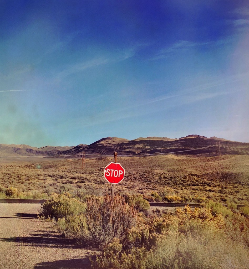 Stop for Wyoming